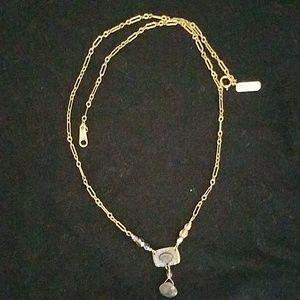 holly yashi gold necklace labradorite crystals